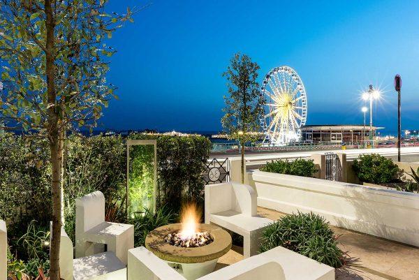 Brighton front garden designed by Langlea Garden Design.