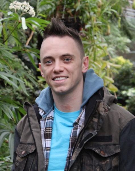Lee Burkhill, garden designer at Garden Ninja