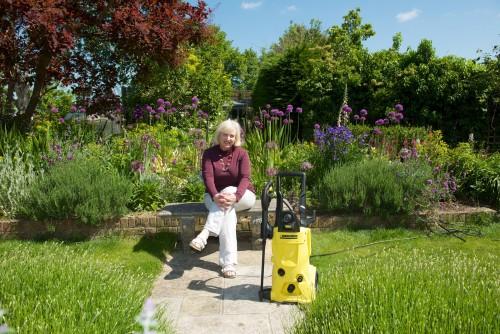 Middlesized Garden Karcher blogger