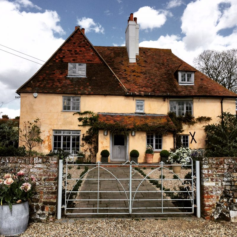 Pheasant Farm Gate was made to suit the property from a historic gate nearby