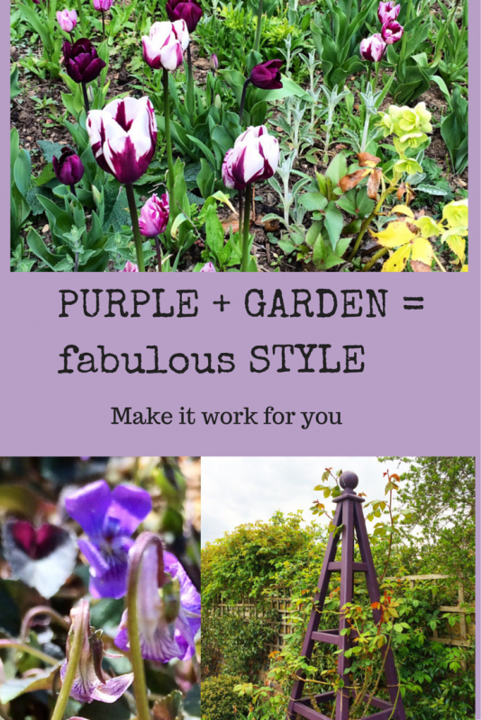 A country garden has riotous colour - a modern country garden has a colour theme