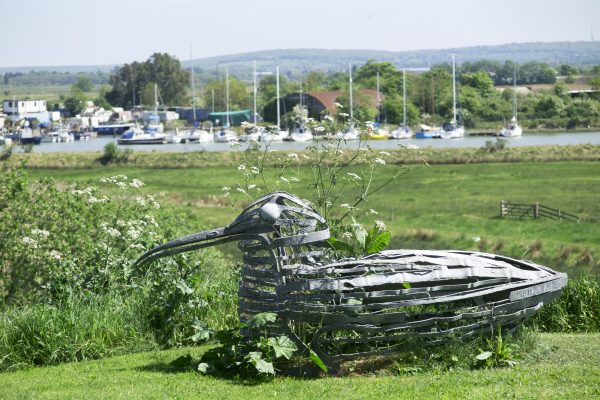 Pick a coastal theme for your garden sculpture