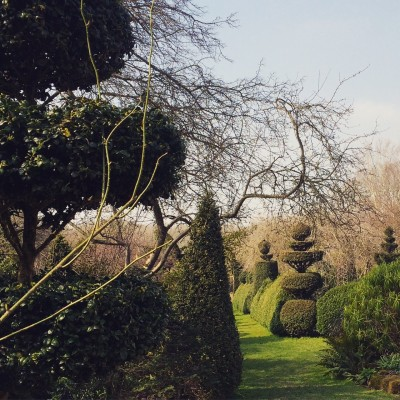 Topiary garden in Kent