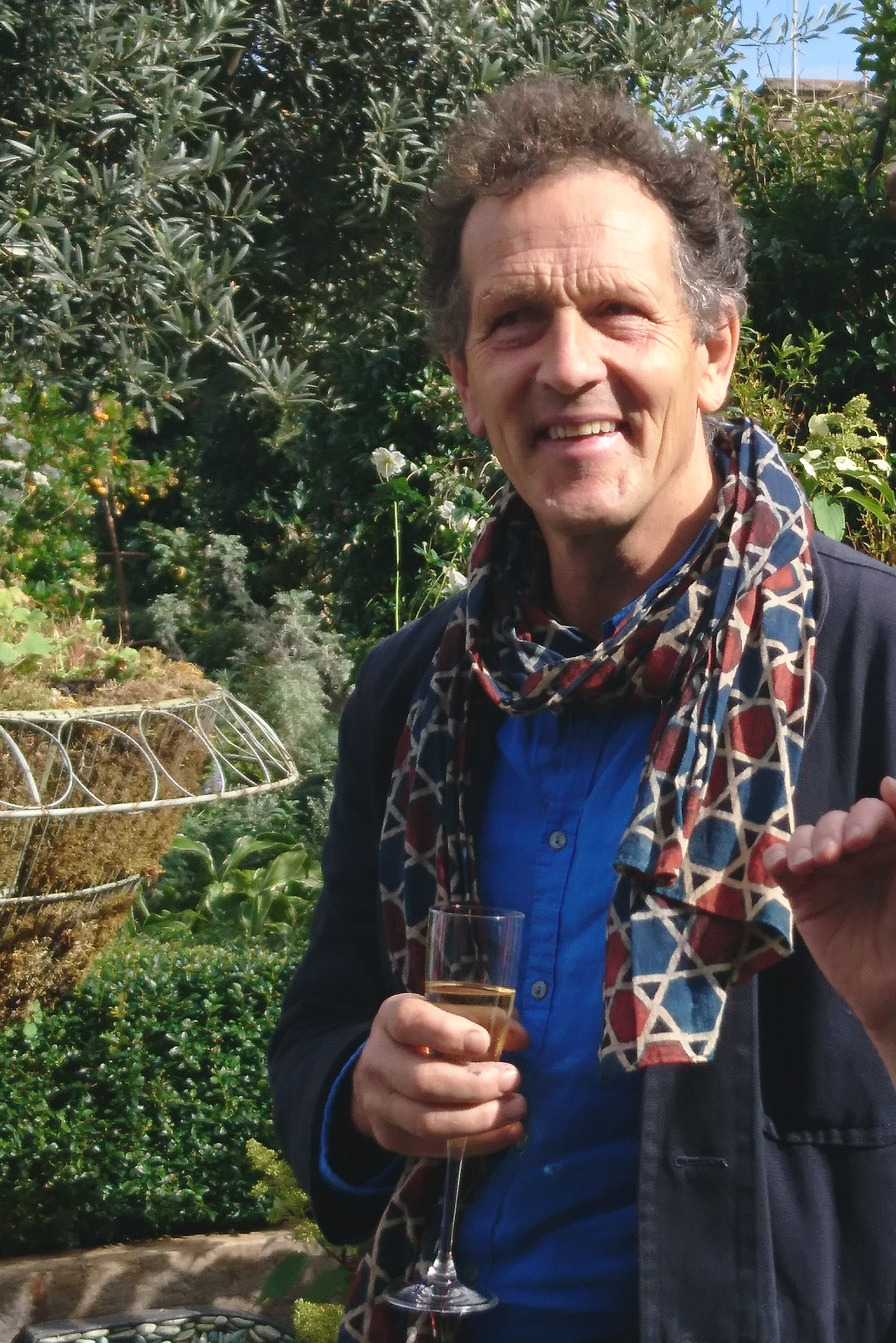Monty Don 'Down to Earth' book launch