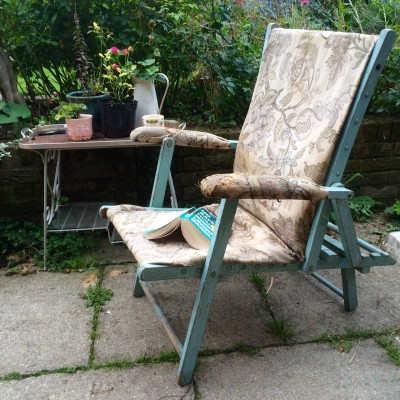 Choose at least one chair in your garden for comfort