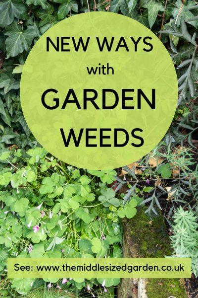 Garden weeds - a new approach