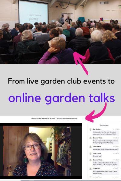 Online garden talks
