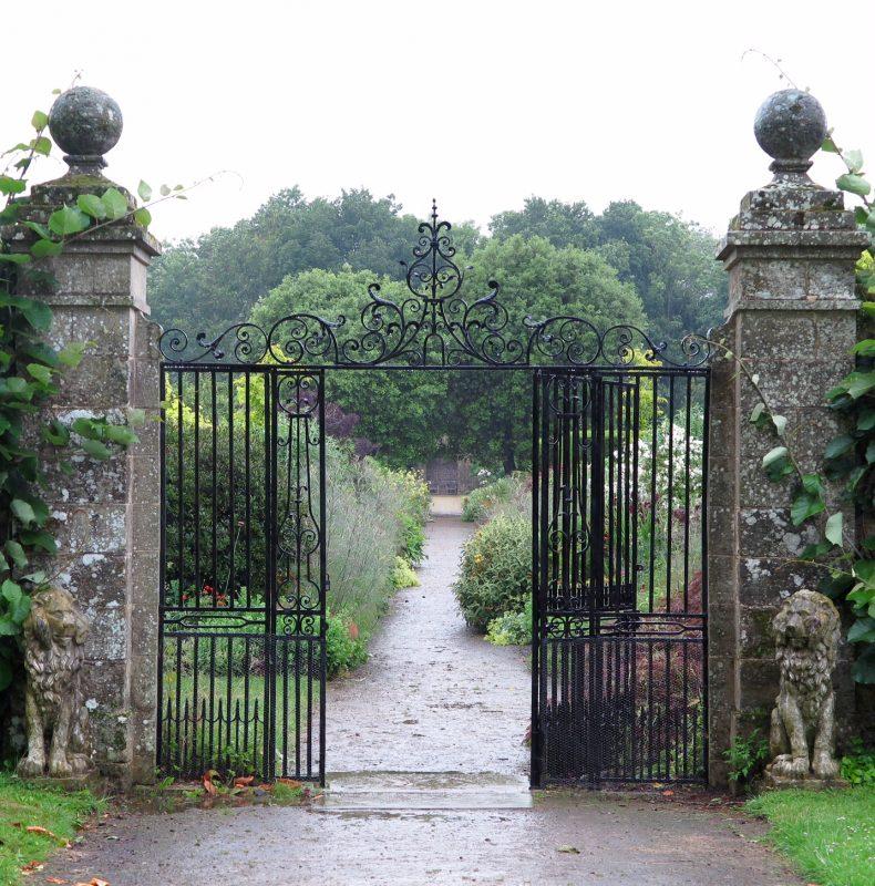 The Lion Gate at Parham