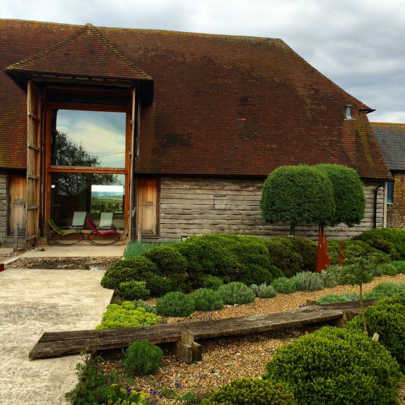 Pheasant Barn agricultural 'garden' draws on modern design and historic usage