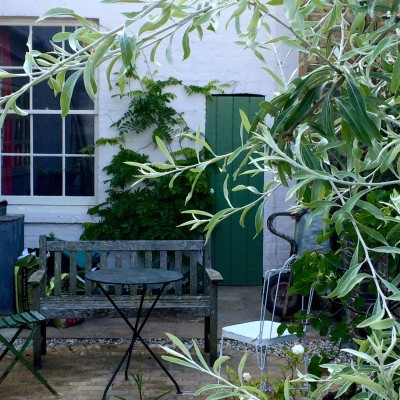 Is there a 'lost corner' of your garden where you could make seating work?