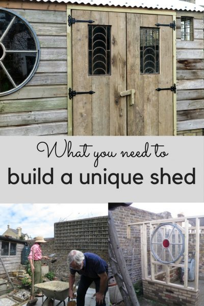 How to build a unique shed