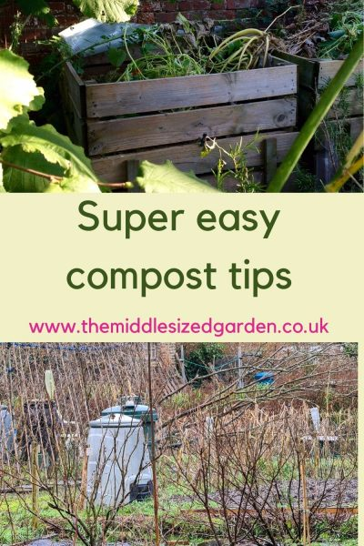 Super easy garden compost tips