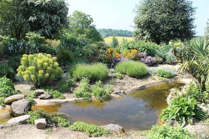 Doddington Place Gardens Rock Garden
