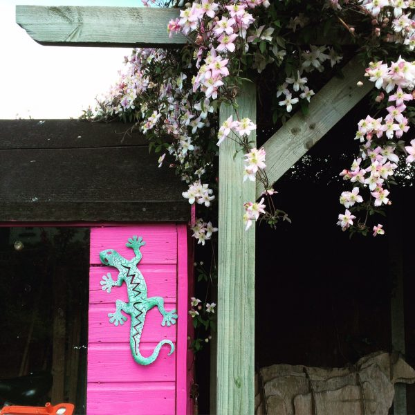 Match your planting to your shed.