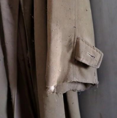 Old gardening coat