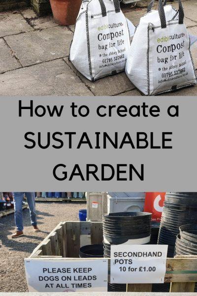 Sustainable garden checklist