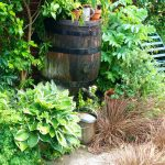 Water butts are useful for short-term water supplies, and in wet summers.