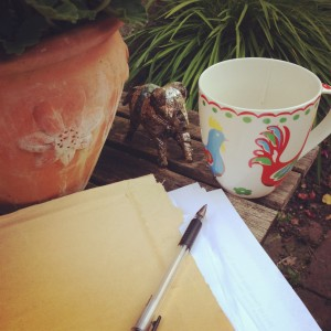write about gardens