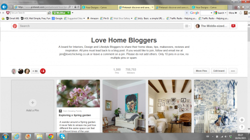 Love Chic Living group board