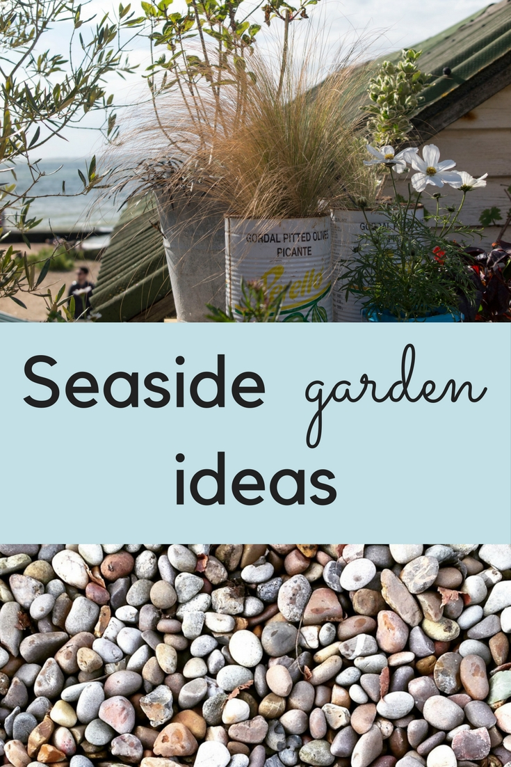 How to create a delightful seaside garden the middle for Seaside garden designs