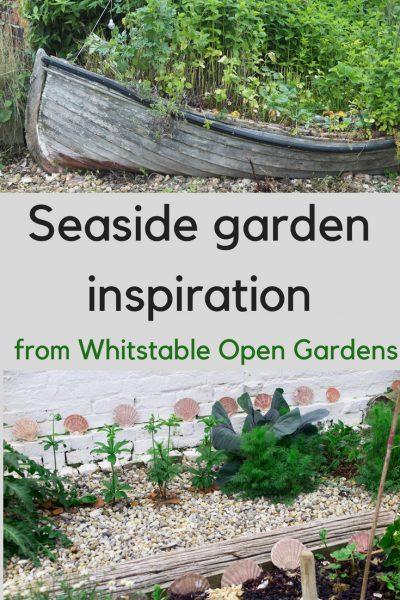 Beach garden ideas from the fishing village of Whitstable #gardening #beachgardens