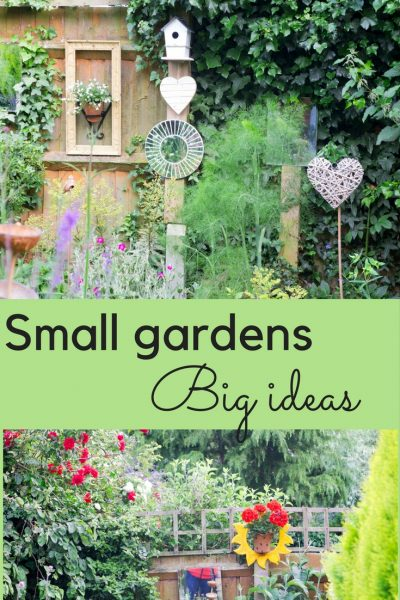 10 easy, enchanting ideas for a small garden