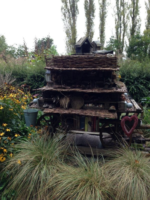 Bug hotel at Sussex Prairie Gardens