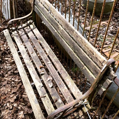 Symonds Salvage Yard bench