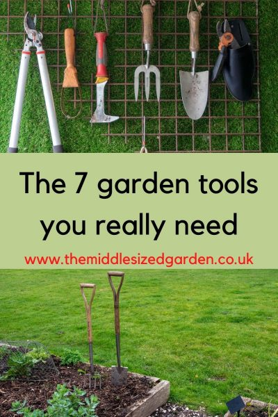 7 essential gardening tools.