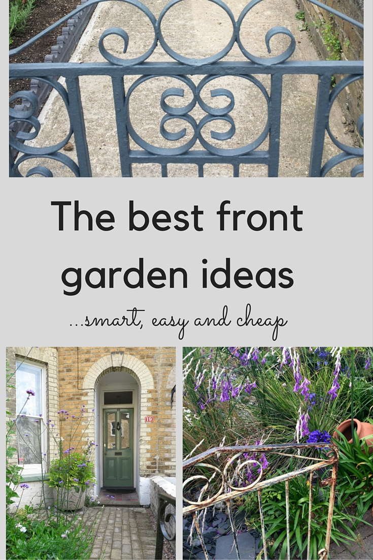 The best front garden ideas smart easy and cheap the for Best house designs with garden