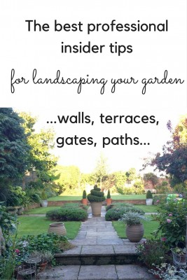 How to get the landscaping right in your garden