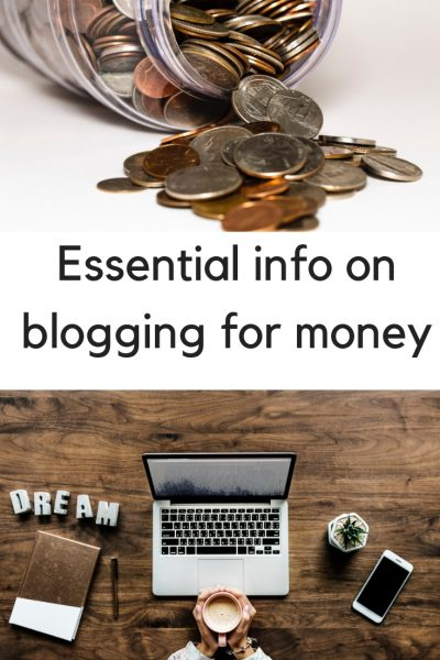 If you blog for money (or you want to) you need to read this!