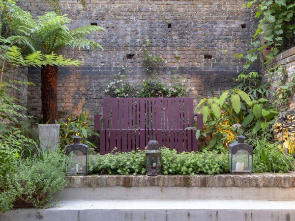 GArden seating as garden sculpture
