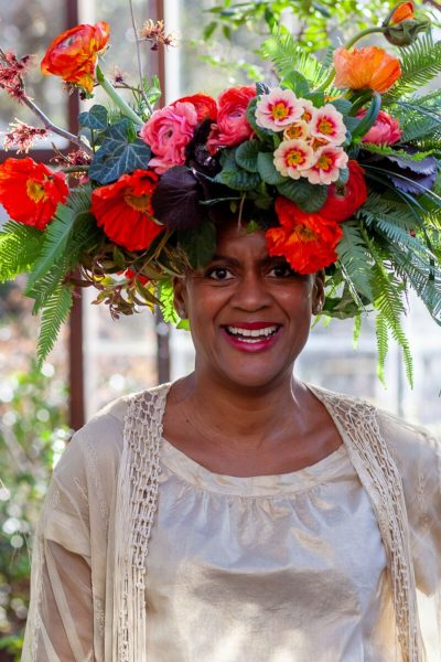 Arit Anderson flower crown