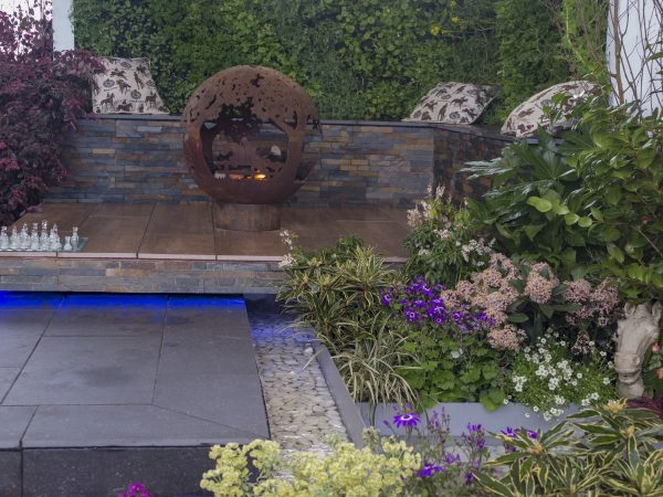 Student gardens at Ascot Garden Show