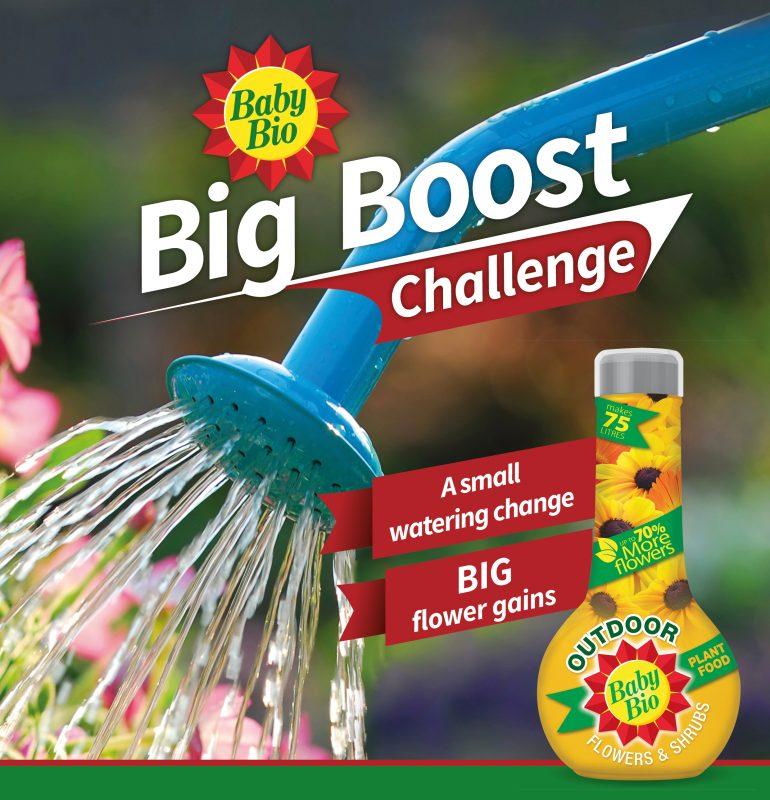 Baby Bio Big Boost challenge