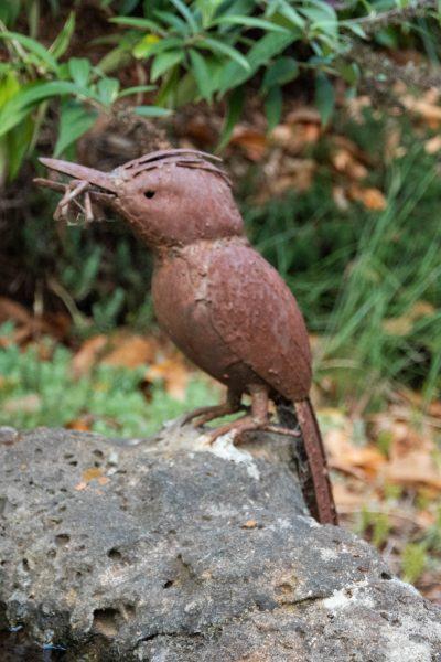 Garden bird ornament