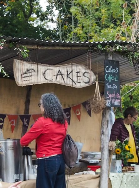 Cakes at the Great Dixter Plant Fair
