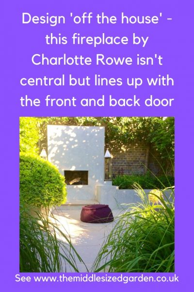 Garden designed by Charlotte Rowe