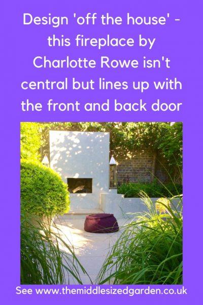 Garden designed by Charlotte Rowe