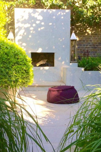Garden designer Charlotte Rowe