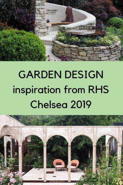 Small garden design inspiration fro RHS Chelsea 2019 #RHSChelsea