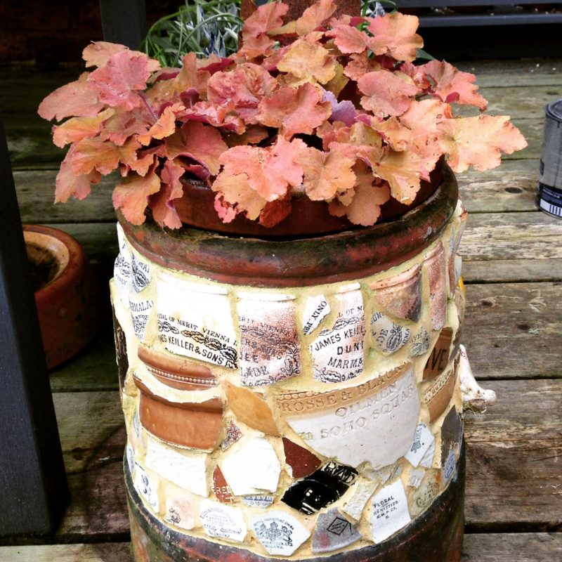 Chimney pot mosaic