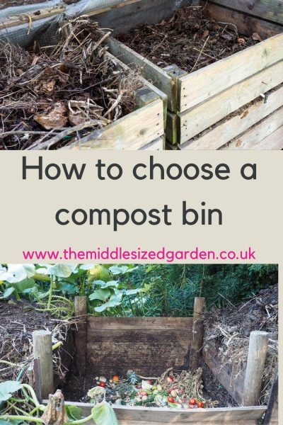 Square garden compost bins