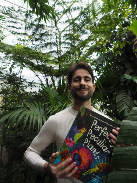 Dr chris Thorogood and Perfectly Peculiar Plants at the Oxford Botanic Gardens