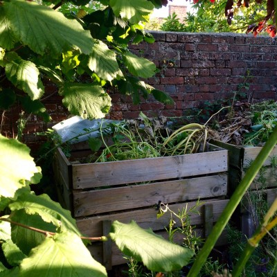 Make your own compost - it's really valuable