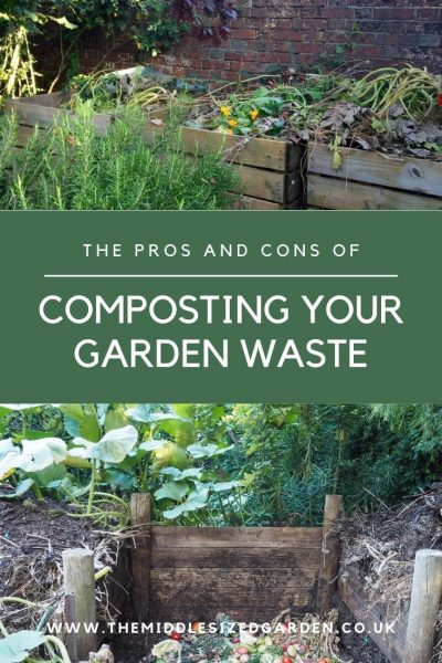 Compost your garden waste