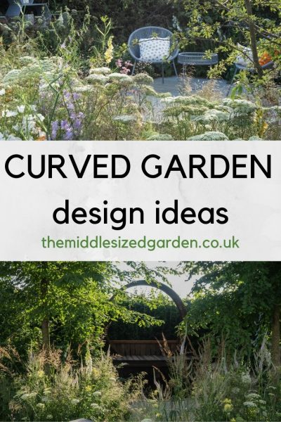 Curved garden design ideas from RHS Hampton Court Garden Festival