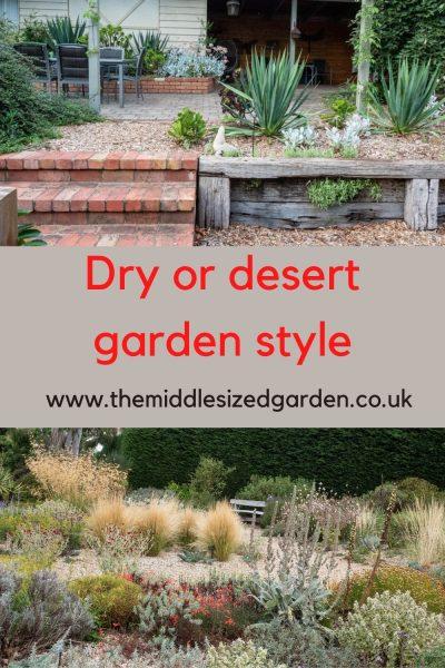 Drought resistant gardens