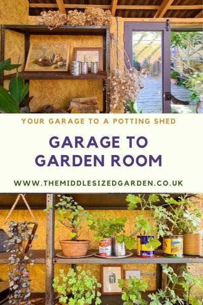 Adding light to a garden room